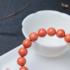 10mmMOMO橘色珊瑚手串-紅掌柜