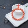 MOMO珊瑚單圈手串-紅掌柜