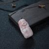 MISU粉红珊瑚吊坠-红掌柜
