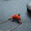 珊瑚花项链-红掌柜
