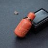 MOMO珊瑚鼻烟壶-红掌柜