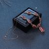 18K牛血红珊瑚项链-红掌柜