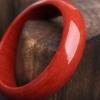 意大利天然沙丁正红珊瑚平安镯-红掌柜