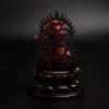 日本天然阿卡红珊瑚观音摆件 - 红掌柜