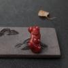 阿卡深红珊瑚弥勒佛吊坠-红掌柜