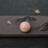 16.8mmMISU粉色珊瑚圆珠-红掌柜