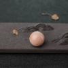 MISU粉色珊瑚圆珠-红掌柜