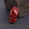 天然阿卡深红珊瑚佛吊坠-红掌柜