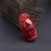日本阿卡深红珊瑚佛吊坠-红掌柜