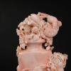 天然深水粉色珊瑚鏤雕擺件-紅掌柜