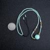 中瓷蓝绿松石项链-红掌柜