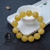 17.5mm天然波罗的海鸡油黄蜜蜡单圈手串-红掌柜