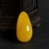 波罗的海天然鸡油黄蜜蜡随形吊坠-红掌柜