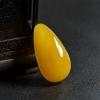 天然鸡油黄蜜蜡随形吊坠-红掌柜