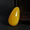 波罗的海鸡油黄蜜蜡随形吊坠-红掌柜