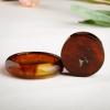 缅甸天然红茶珀手镯-红掌柜