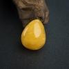 鸡油黄蜜蜡吊坠-红掌柜