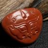 南红柿子红仿古吊坠-红掌柜