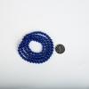 6.6mm天然阿富汗紫蓝色青金石108佛珠-红掌柜