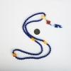 6.8mm天然阿富汗紫蓝色青金石108佛珠-红掌柜
