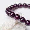 紫色石榴石手串-红掌柜