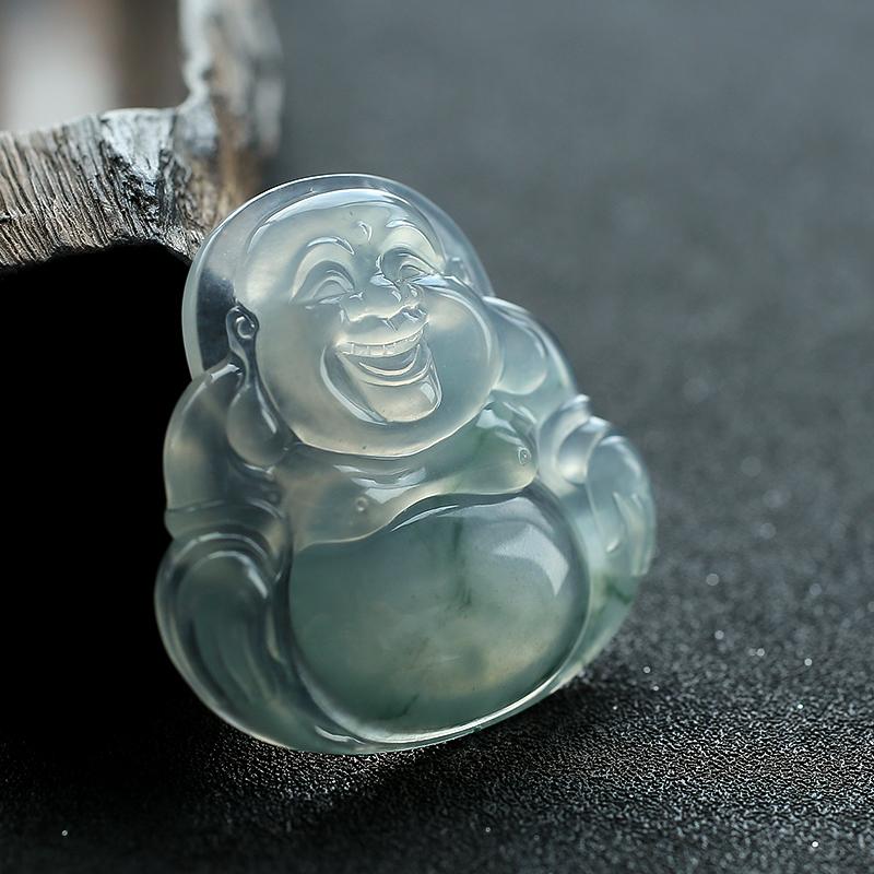 缅甸翡翠佛挂件 - 红掌柜珠宝