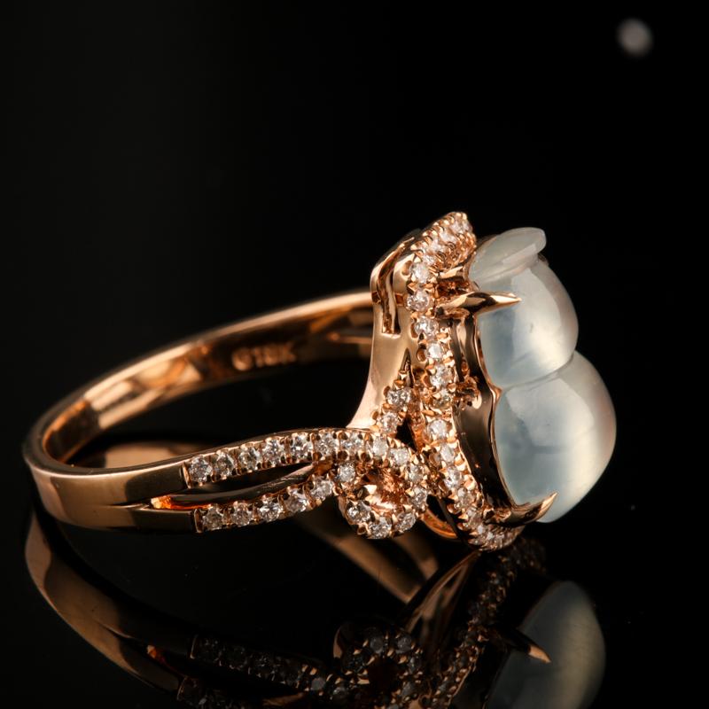 緬甸翡翠葫蘆戒指-紅掌柜