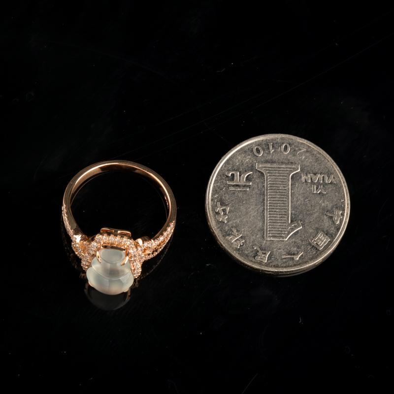 翡翠葫蘆戒指-紅掌柜