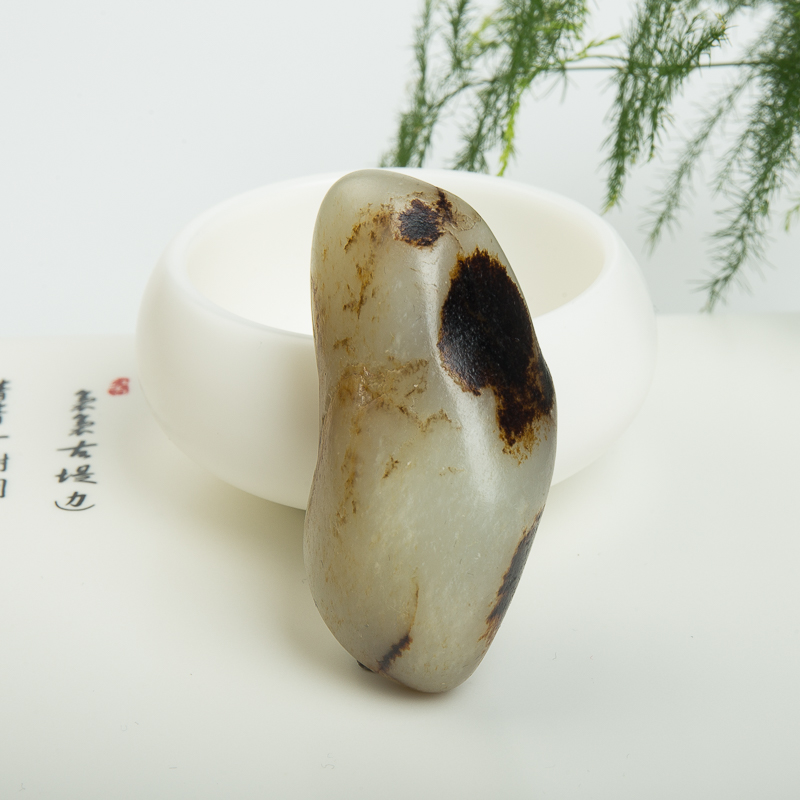 和田玉原石-红掌柜