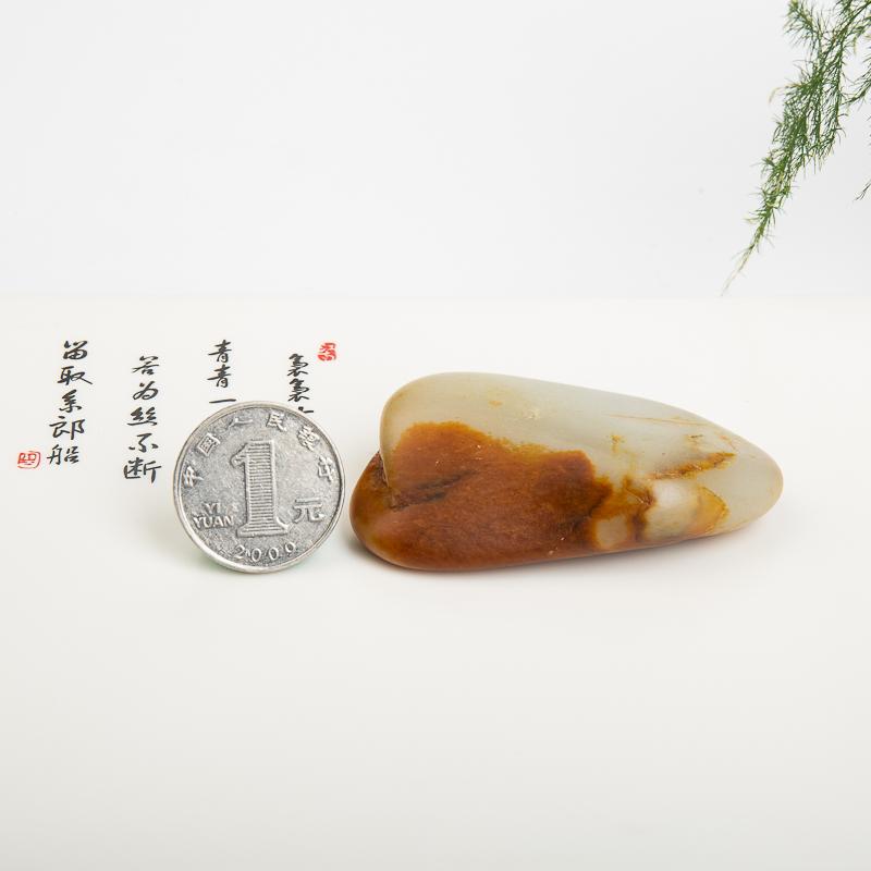 天然新疆籽料和田玉原石-红掌柜