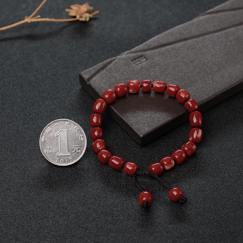正红珊瑚手串-红掌柜