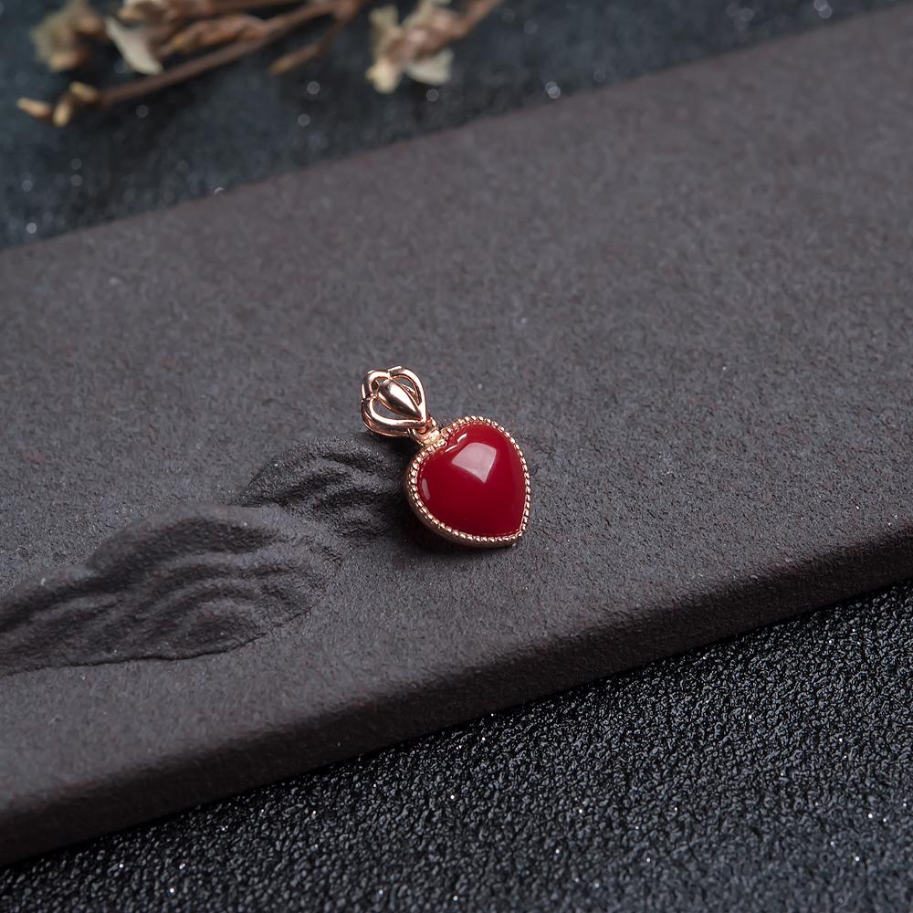红珊瑚吊坠-红掌柜