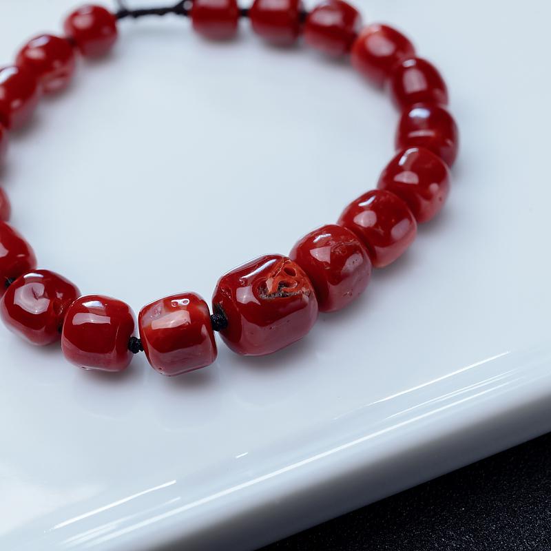 阿卡深红珊瑚手串-红掌柜