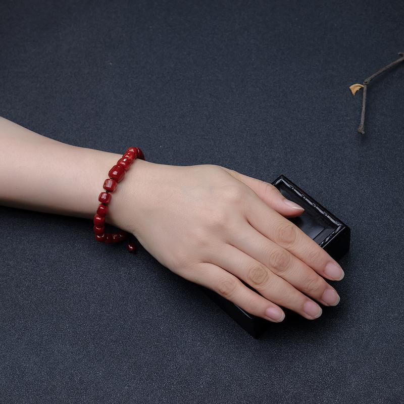 阿卡珊瑚手串-红掌柜