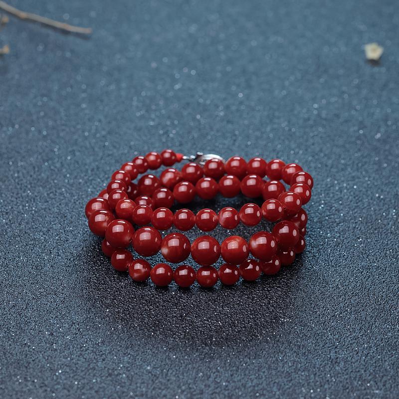 阿卡牛血紅珊瑚塔鏈-紅掌柜