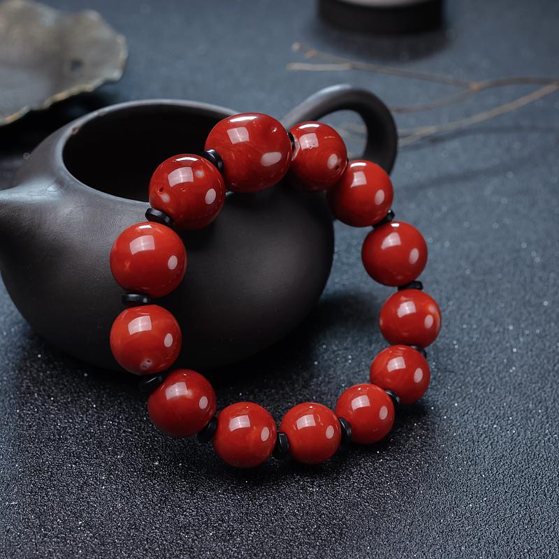 阿卡珊瑚手串-紅掌柜