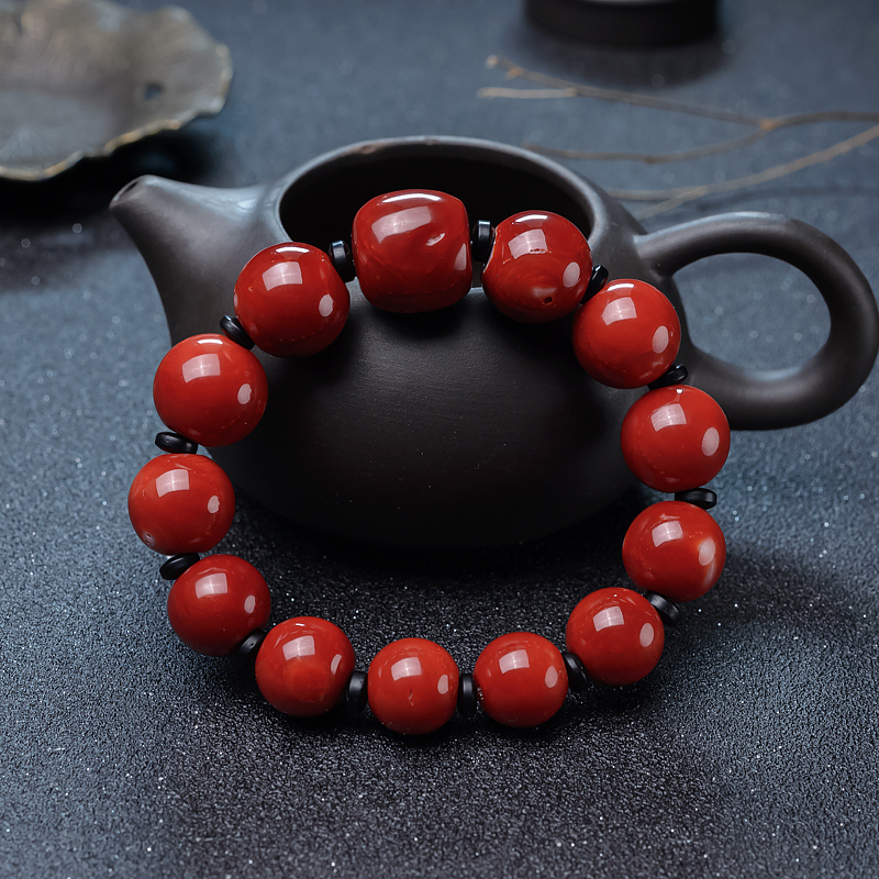 珊瑚手串-紅掌柜