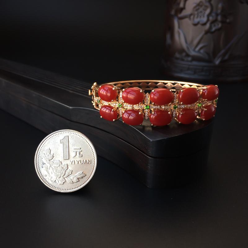 红珊瑚手镯 - 红掌柜