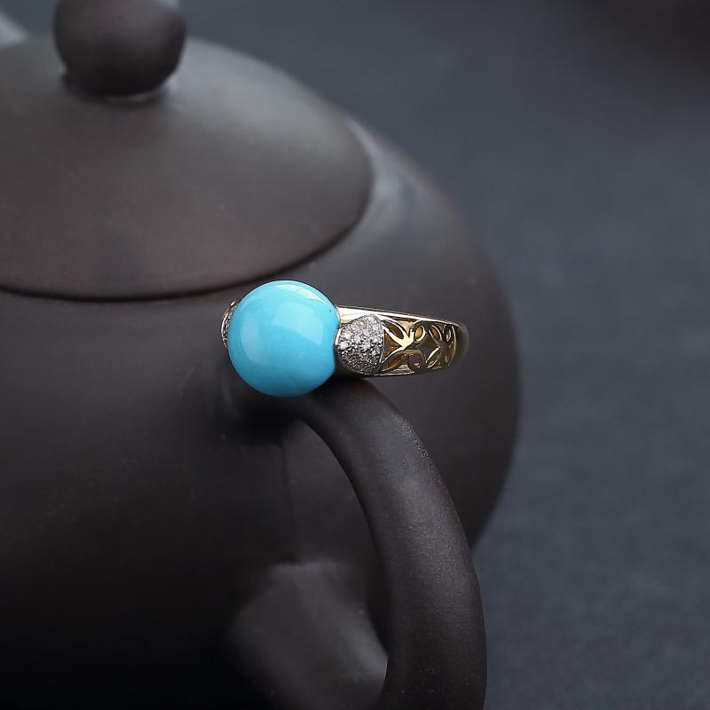 18K金鑲鉆美國原礦美松戒指-紅掌柜