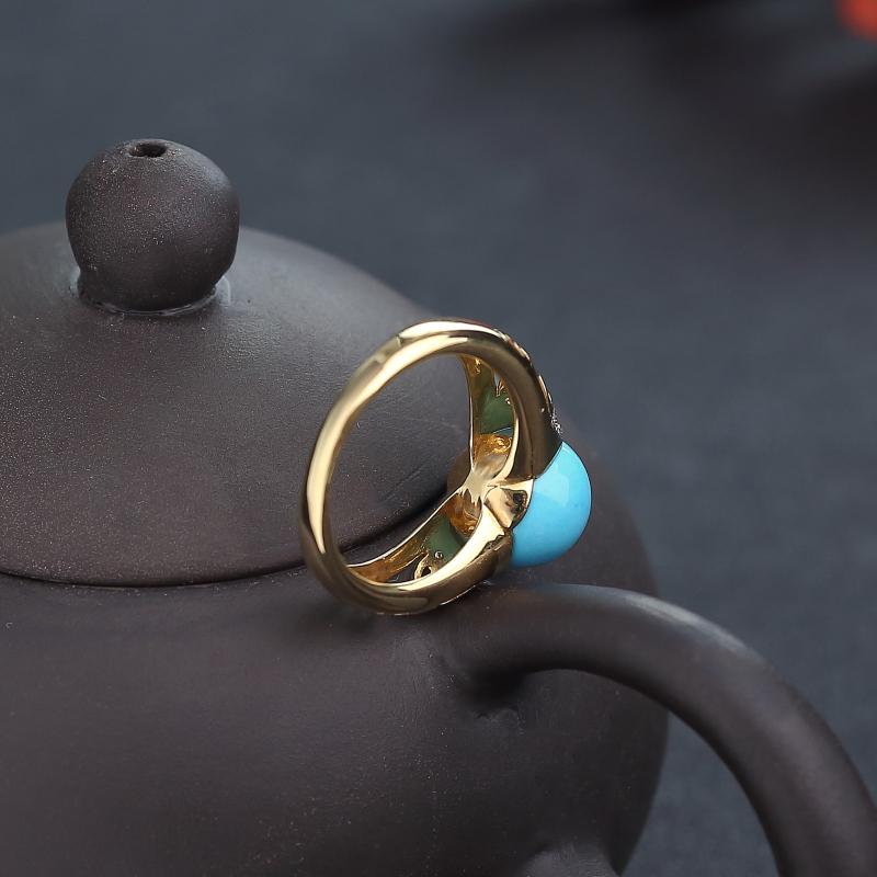 18K金鑲鉆天然原礦美松戒指-紅掌柜