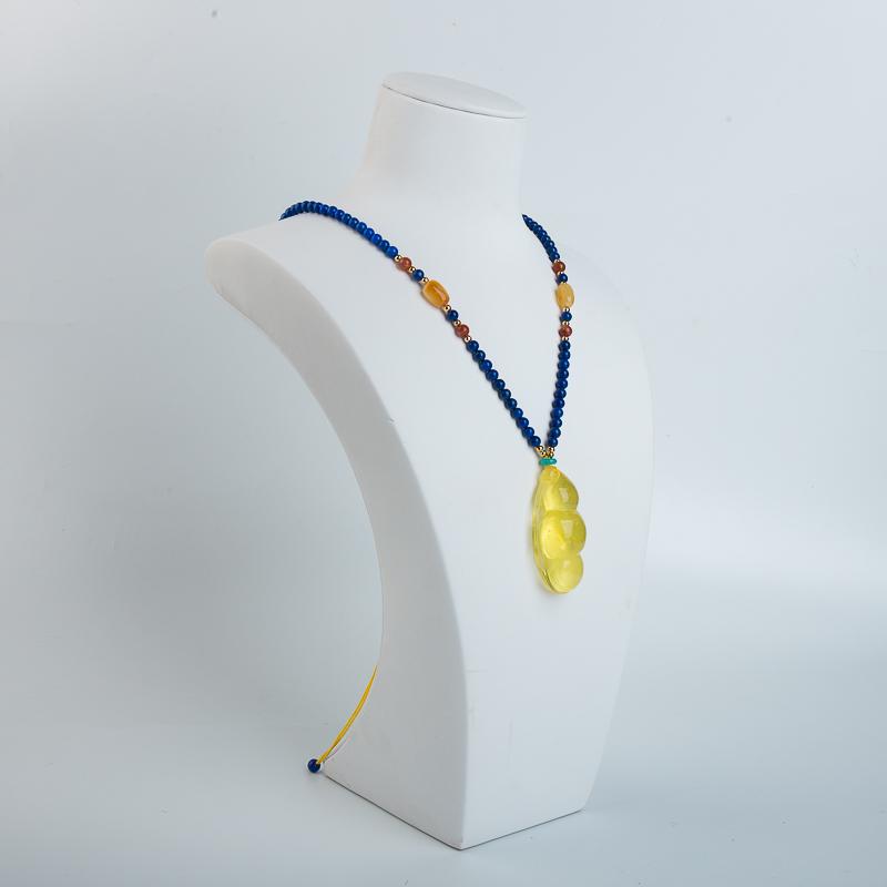 淺黃金絞蜜項鏈-紅掌柜