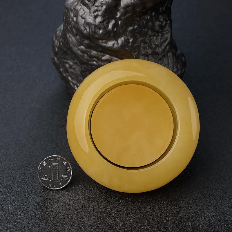 雞油黃蜜蠟手鐲-紅掌柜