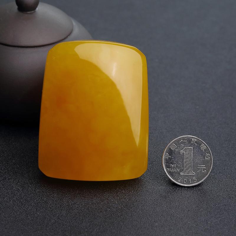 波羅的海雞油黃蜜蠟吊墜-紅掌柜