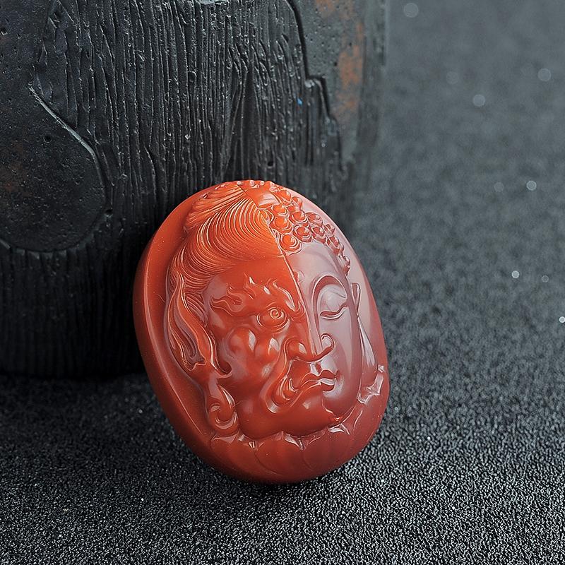 南红吊坠 - 红掌柜珠宝