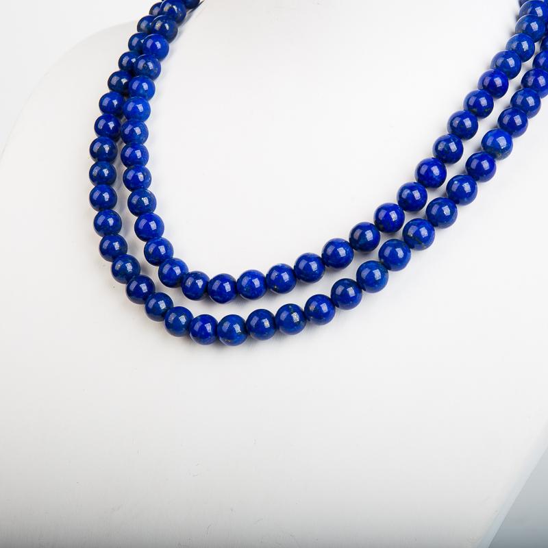 6.6mm阿富汗紫蓝色青金石108佛珠-红掌柜