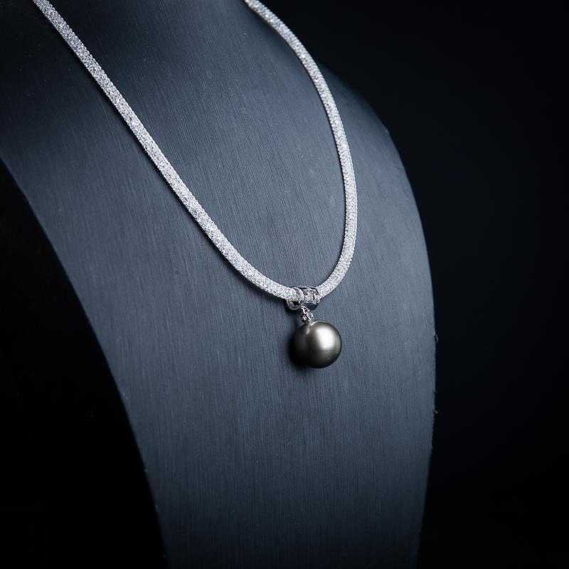 18k海水珍珠项链-红掌柜