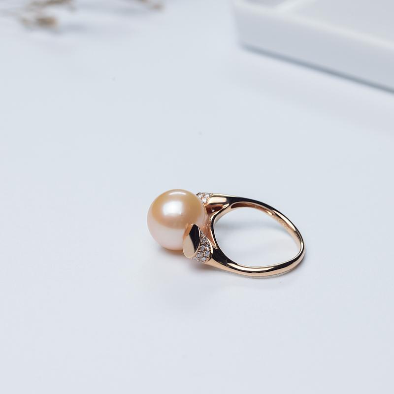 珍珠戒指-红掌柜